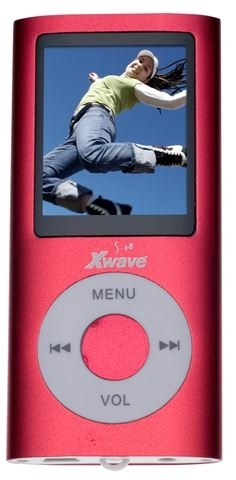 MP4 PLAYER Xwave S-48 Red