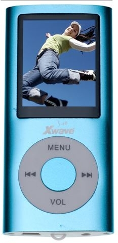 MP4 PLAYER Xwave S-48 Blue