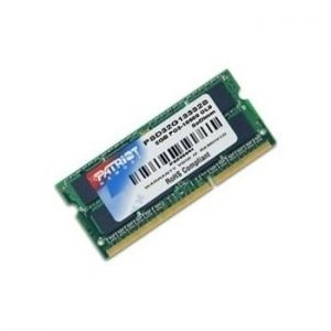 Memorija SODIMM DDR3 2GB 1333MHz Patriot Signature CL9, PSD32G13332S