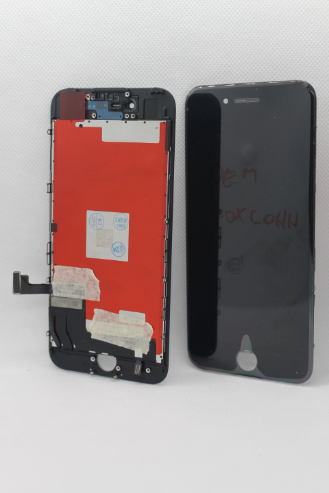 LCD Iphone 7+touch screen crni OEM foxconn/staklo copy - iPhone displej