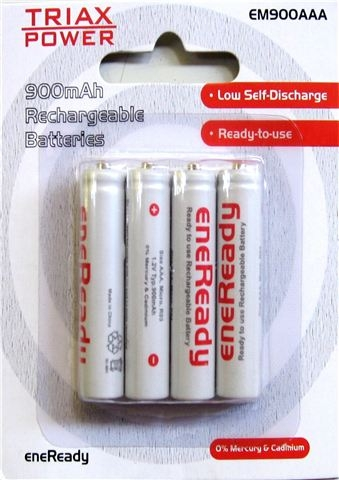 TRIAXPOWER eneReady AAA 4x900 mAh