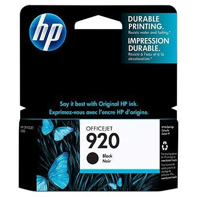 SUP HP INK CD971AE Black No.920