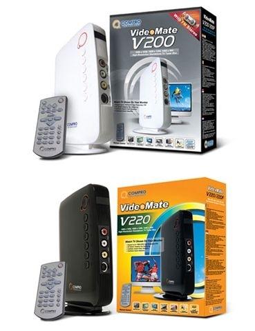 TV Tuner Compro V200F Standalone Box FM