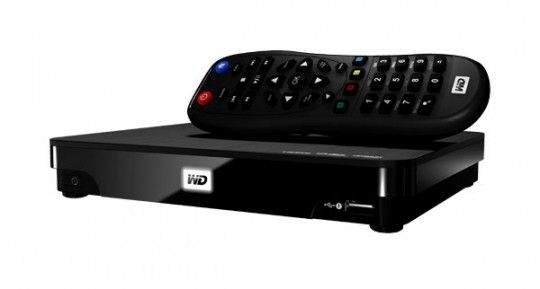 WD Media Player TV Live HUB 1TB WDBACA0010BBK-EESN