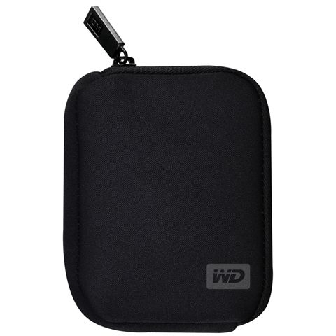 WD My Passport Black Neoprene Case