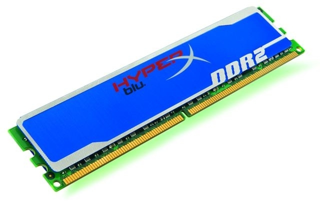 Memorija Kingston DDR2 2GB 800MHz HyperX Blu