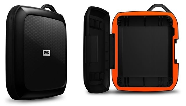 WD Nomad Passport Rugged Case