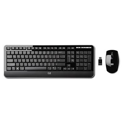 HP Tastatura & Mouse Deluxe Wireless , KZ256AA