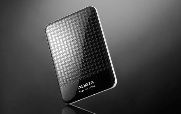 Externi hard disk 500GB Superior SH02 Black, USB 2.0 ADATA