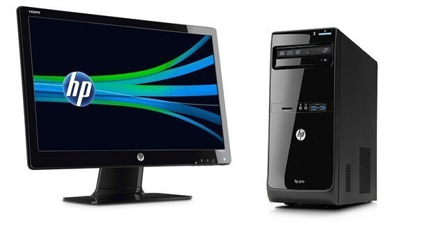 HP Desktop 3400 MT G530 4G 500GB + HP 2011X WLED Monitor , QB052EA