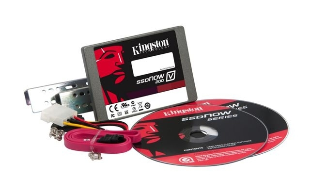 SSD disk Kingston 128GB, SSDNow V200 SATA 3  2.5