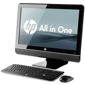 HP Desktop AIO 8200E i3-2100 2G 500GB Win7 , QV605AW