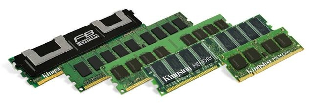 Memorija branded Kingston 16GB DDR3 1333MHz ECC Reg Kit 4x4GB za HP