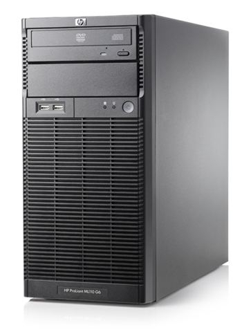 SRV HP Proliant ML110G6 X3430 4GB 2x750GB Raid 0,1,10 506667R-P1 RENEW