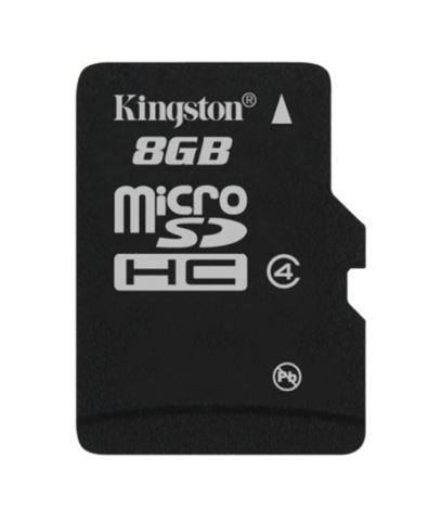 Memorijska kartica Kingston SD MICRO 8GB HC Class 4-bez adaptera KIN