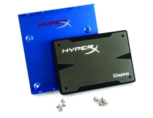 SSD disk Kingston 120GB, HyperX 3K SATA 3 2.5