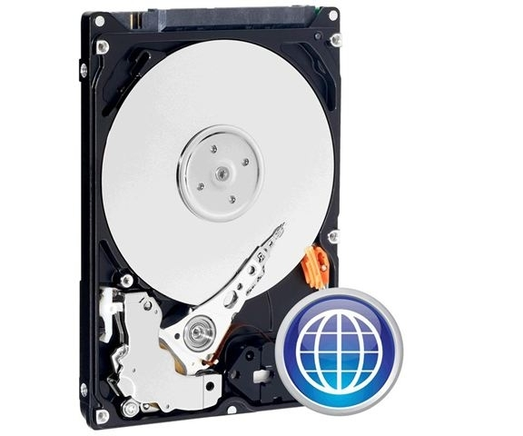 Hard Disk WD Scorpio Blue 250GB, SATA 2,5