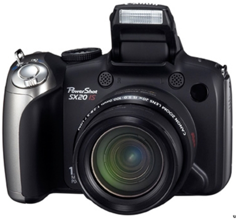 PowerShot SX20IS