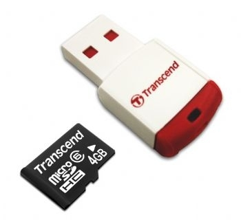 Micro SD 4GB + USB2.0 adapter - Micro SD