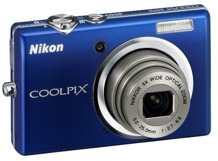 Nikon Coolpix S570 Blue