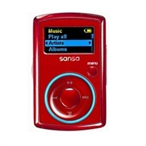 Sansa Clip Red - MP3-MP4 plejeri
