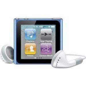 Apple iPod nano 8GB - Blue mc689qb/a
