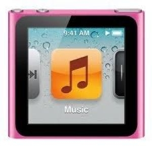 Apple iPod nano 8GB - Pink mc692qb/a