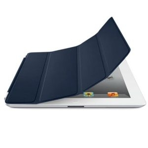 Apple iPad Smart Cover - Leather - Navy, md303zm/a