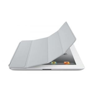 Apple iPad Smart Cover - Polyurethane - Light Gray, md307zm/a