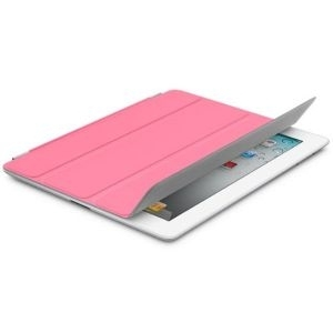 Apple iPad Smart Cover - Polyurethane - Pink, md308zm/a