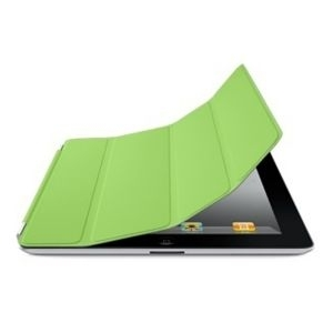 Apple iPad Smart Cover - Polyurethane - Green, md309zm/a