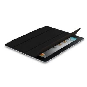 Apple iPad Smart Cover - Leather - Black, md301zm/a