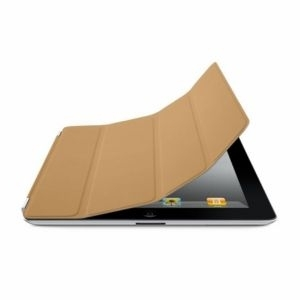 Apple iPad Smart Cover - Leather - Tan, md302zm/a