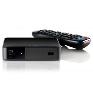 Media Player WD TV HD USB,WDBGXT0000NBK-EESN