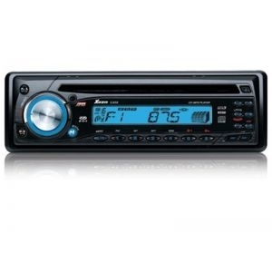 Auto CD Xwave C-400 blue, (CD/MP3/FM, RDS 4x40W)