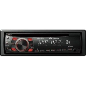 Auto CD MP3 Player Pioneer DEH-1300MP, WMA MP3 CD AUX in 4x50w