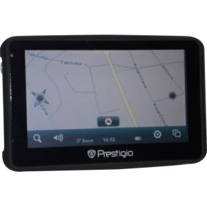 Outlet - PRESTIGIO RoadScout 4150 GPS (4.3'' 480X272, 4GB, 128MB RAM, Atlas V)