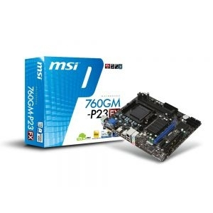 'MB AM3+ 760G MSI 760GM-P23 (FX) VGA, PCIe/DDR3/SATA2/GLAN/7.1