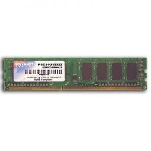 ''Memorija DIMM DDR3 4GB 1333MHz Patriot Signature CL9, PSD34G13332
