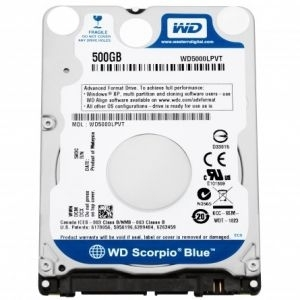 HDD SATA3 500GB WD Scorpio Blue 2.5