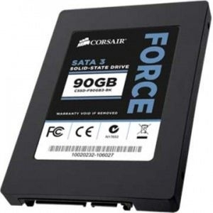 'SSD SATA3 90GB Corsair Force 3, 550-500MBs/CSSD-F90GB3-BK