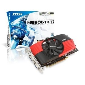 ''VGA GeForce GTX550-Ti MSI OC 1GB/DDR5,/2xDVI/HDMI/192bit