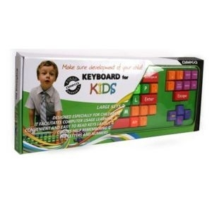 Tastatura USB US Omega 200 for kids, multi-color