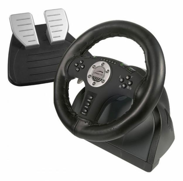 Force Vibration Racing Wheel