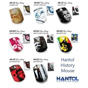 Miš USB Hantol History, Optical 800dpi 8Mix