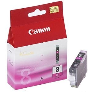 Cartridge Canon CLI-8M magenta, IP4200/IP5200/iP5300/IP6600D/MP500/MP800/iP4300