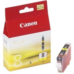 Cartridge Canon CLI-8Y yellow, IP4200/IP5200/iP5300/IP6600D/MP500/MP800/iP4300