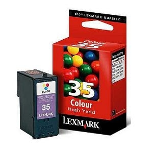 Cartr. Lexmark No.35 18C0035E color, Z815/845/1320/1420/X2550/X3330/3550/X5075