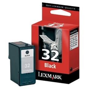 Cartr. Lexmark No.32 18CX032E black, Z815/X5250/X7170/X3330/X8350/P915/P6250