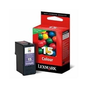 Cartr. Lexmark No.15A 18C2100E color, Z2320/X2650/X2670 refillable